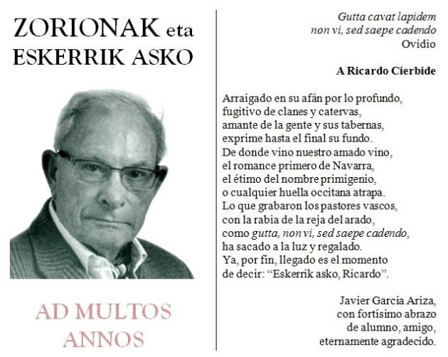 aD MULTOS ANNOS